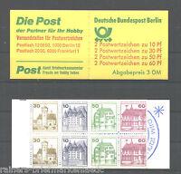 Berlin Markenheftchen MH 12 c oZ postfrisch Burgen und Schlösser BuS MNH