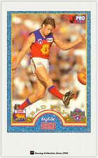 1996 Tip Top Hyfibe AFL Heroes Card #36 Brad Boyd (Fitzroy)