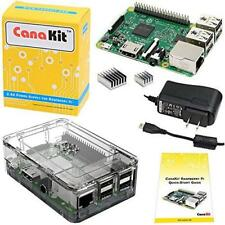 CanaKit Raspberry Pi 3 Kit with Clear Case and 2.5A Power Supply New