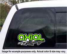 Axial Racing Flame Logo Custom Vinyl Decal for Vehicle Window Various Sizes