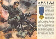 C5609) WW2, MO ARTURO GALLUPPI DA BOLOGNA. VIAGGIATA IL 7/5/43.