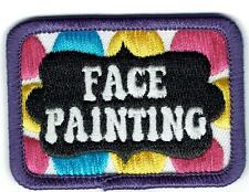 Girl Boy Cub FACE PAINTING Fun Patches Crests Badges SCOUTS GUIDES faces words