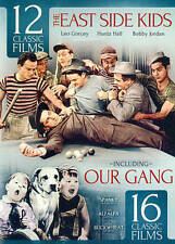 The East Side Kids: 12 Classic Films/Our Gang: 16 Classic Films (DVD, 2014, 3-Di
