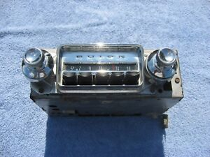 1961 1962 1963 Buick special AM radio