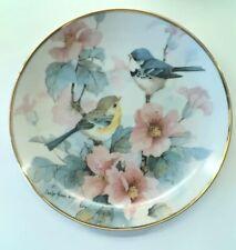 Franklin Mint Bird Collector Plates Springtime Serenade by Carol Shores Wright