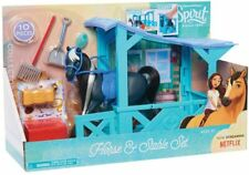 Spirit Riding Free Horse & Stable Playset 10 Pieces New Kids Xmas Toy Age 3+