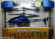 Infrared Control Helicopter Rc Remote Control by Excite Blue 7.5 in Long