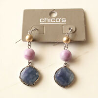 New Chicos Resin Beads Drop Earrings Gift Fashion Women Party Holiday Jewelry