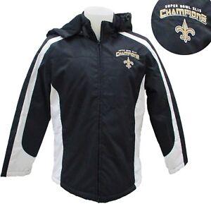 New Orleans Saints NFL Women's Superbowl XLIV Hooded Winter Jacket