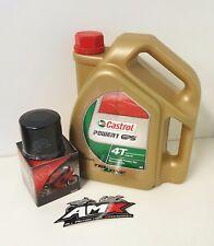 Castrol Power 1 oil & ryco filter service kit Kawasaki ZZR250 ZZ-R250 1990-2009