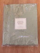 Restoration Hardware Matelasse Boudoir 12�x18� Pillow Sham Thyme