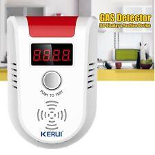 Digital Gas & Liquid Petroleum Poisoning Sensor Warning KERUI Alarm LED Detector
