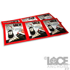 Lace Anchors 2.0 No tie shoelaces system COMPLETES 12 SHOES!