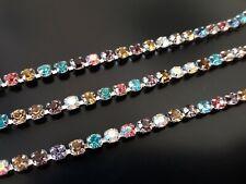 2 Auf 15 Meter Kette Konten Kristalle Strass 3,5mm Farben (CAD-53) (Nº 16)