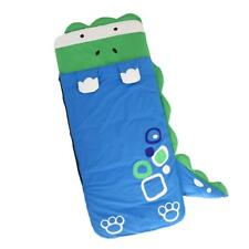 Kids Plush Animal Slumber Sleeping Bag with Super Soft Cozy Dinosaur