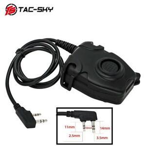 TAC-SKY tactical headset PELTOR PTT is suitable for Jianwu Baofeng UV-82 UV-5R