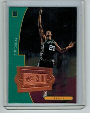 1998-99 SPX FINITE TIM DUNCAN #154 2750/4050 SPX2000
