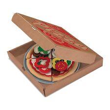 Melissa And Doug Felt Food Pizza Set NEW Traditional Toys
