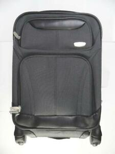 """Skyline 21"""" Expandable Carry On Smooth Roll Spinner Suitcase - Gray"""