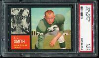 1962 Topps Football #125 J.D. SMITH Philadelphia Eagles ROOKIE RC PSA 7 NM