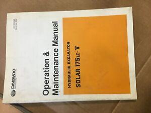 DAEWOO Solar 175LC-V Operation and Maintenance Manual