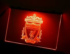 Liverpool FC Neon Sign Light Red 3D Printed Sign Bar Pub Mancave Christmas Gift