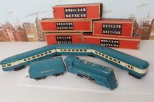 Vintage Prewar Lionel O Gauge No.265E Blue Streak Steam Engine & Passenger Set