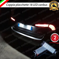 PLACCHETTE A LED LUCI TARGA 18 LED SPECIFICHE FIAT TIPO 6000K NO ERROR