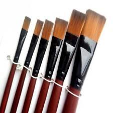 6pcs/set Children Drawing Watercolor Painting Nylon Oil Paint Pens Brushes Brush