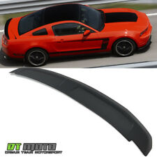 Matte Black 10-14 Ford Mustang GT Cobra Style Flush Mount Rear Trunk ABS Spoiler