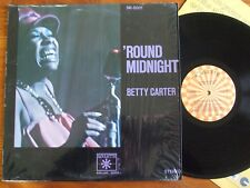VINYL LP 33T BETTY CARTER ROUND MIDNIGHT JAZZ NORTHERN SOUL UNPLAYED COMME NEUF