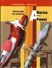 Book - Berva Panni History Moped Scooter Mofas Mokick Roller - Hungarian