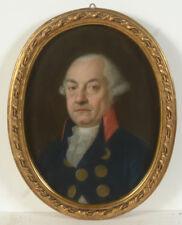 "Nicolaus Lauer ""Portrait Christian Friedrich Pfeffel"" important pastell! 1791/94"