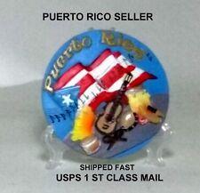 """PuertoRico Flag Medallion Wall Decor Home Office Table Souvenir Collectible 2.5"""""""