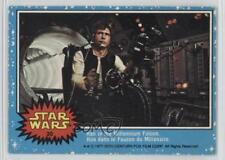 1977 O-Pee-Chee Star Wars #30 Han in the Millennium Falcon Solo Card 2k3