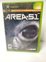 Area 51 (Microsoft Xbox, 2005) Complete