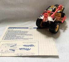 Vintage GI Joe | 1988 Tiger Paw TIGER FORCE | 100% Complete with Blueprints