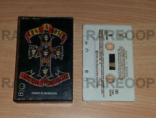 Hambre De Destruccion by Guns N' Roses (Cassette) TAPE MADE IN ARGENTINA