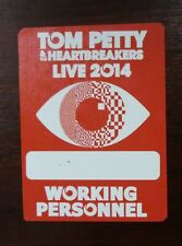 Tom Petty & the Heartbreakers Live 2014 VIP Working Personnel Pass - unbenutzt