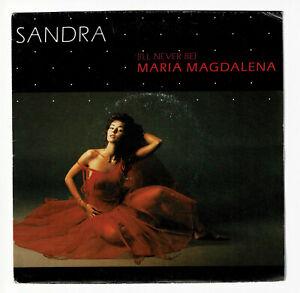 "Sandra Vinile 45 Giri 7 "" Maria Magdalena - Party Games - Virgin 90227 F Ridotto"