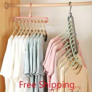 1/2pcs Magic Multi-port Support hangers for Clothes Drying Rack Drying Hanger