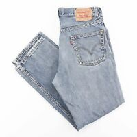 Vintage LEVI'S 550 Relaxed Straight Fit Men's Blue Jeans W31 L27