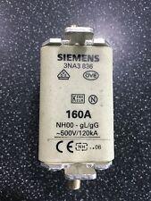Siemens 3NA3 836 160a Fuse