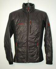Mammut Polartec Alpha Jacket Men's SMALL Black Full Zip Pertex Quantum