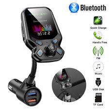 Wireless Bluetooth Car FM Transmitter MP3 Player Radio Adapter USB Charger Kit
