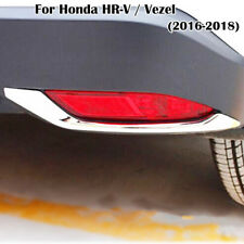For Honda HR-V HRV 2016-2018 Chrome Rear Fog Light Eyebrow Cover Trim Garnish