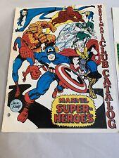 1969 Marvel Comics Marvelmania International Fan Club Catalog Jack Kirby Art!