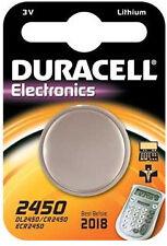 Duracell CR2450 3.0V Lithium Knopfzelle