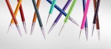 Knit Pro ZING Nadelspiel 20 cm Aluminium bunt beschichtet Strumpfnadeln
