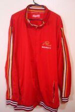 Request Jacket Zip Up Sweatshirt Red 3XL XXXL Hip Hop 1988 Stitched Graffic VTG